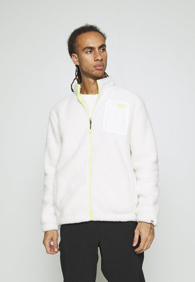 JON - Fleece jacket - soya