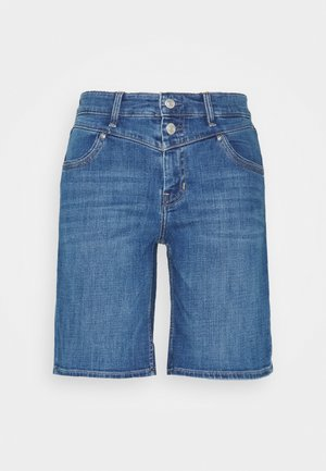 Denim shorts - mid blue heavy