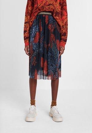 FAL_VIRGINIE - Spódnica trapezowa - blue