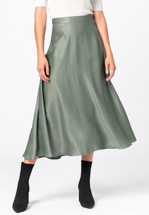 AUS SATIN - A-line skirt - mint