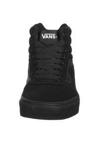 Vans - WARD HI  - Trainers - black  black - 5