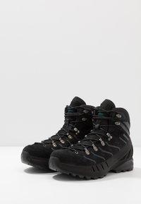 Scarpa - CYCLONE GTX - Zapatillas de senderismo - black/gray - 2