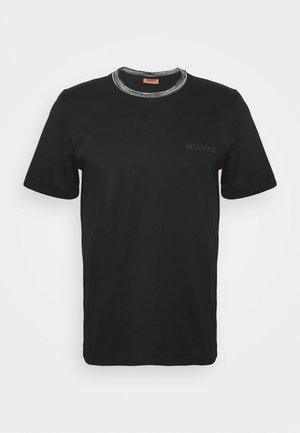 SHORT SLEEVE  - T-shirts - black