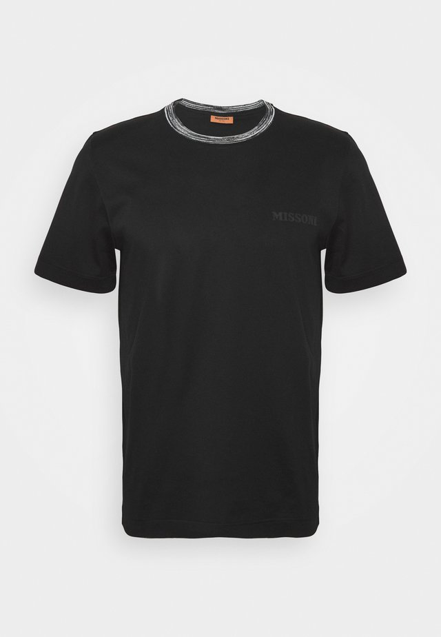 SHORT SLEEVE  - T-shirt basique - black