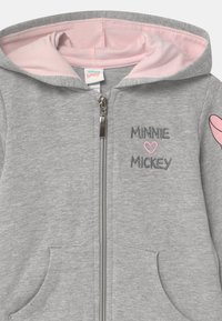 OVS - FULL ZIP MINNIE HOODIE - Mikina na zip - grey - 2