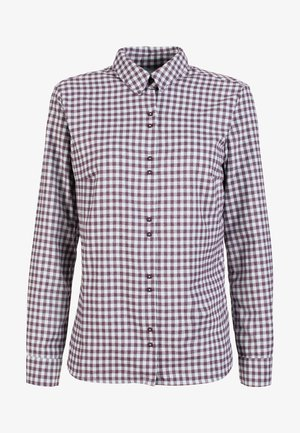 Button-down blouse - ballad-blackberry