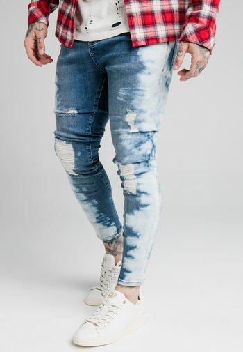 DIP DYE - Jeans slim fit - midstone