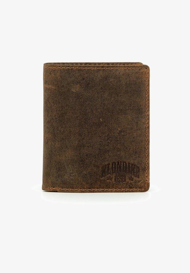 EVAN - Wallet - dunkelbraun
