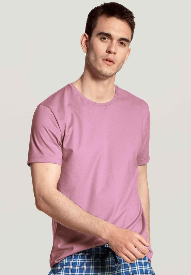 Basic T-shirt - smoky grape