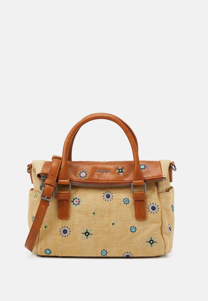 Desigual - BOLS JULY LOVERTY - Handbag - beige