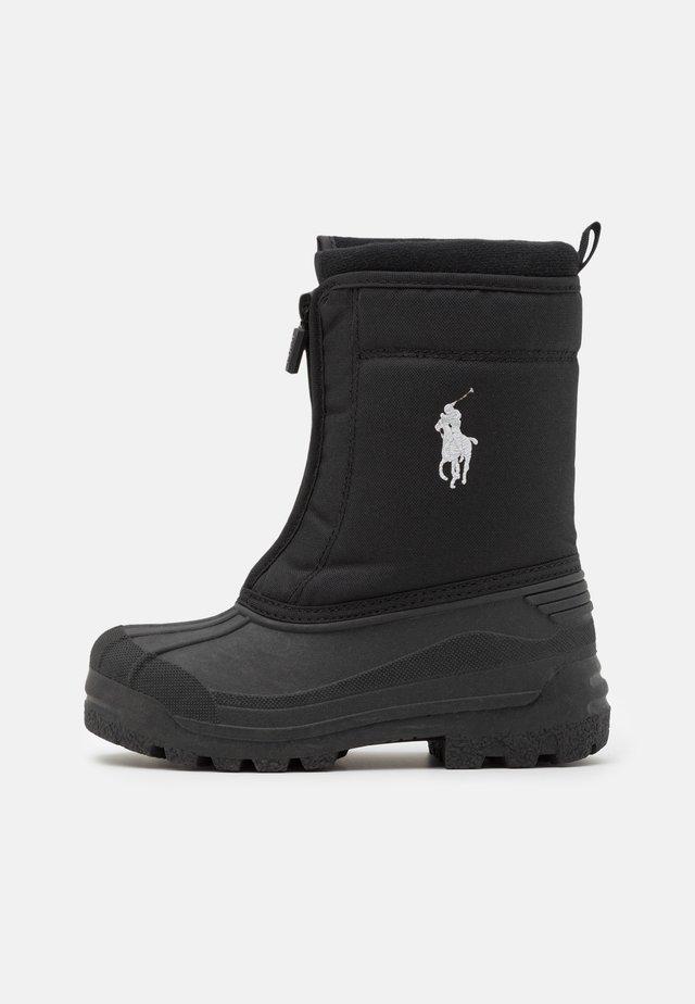 QUILO ZIP UNISEX - Snowboot/Winterstiefel - black/grey