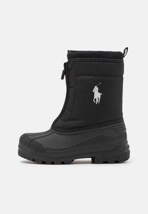QUILO ZIP UNISEX - Zimní obuv - black/grey
