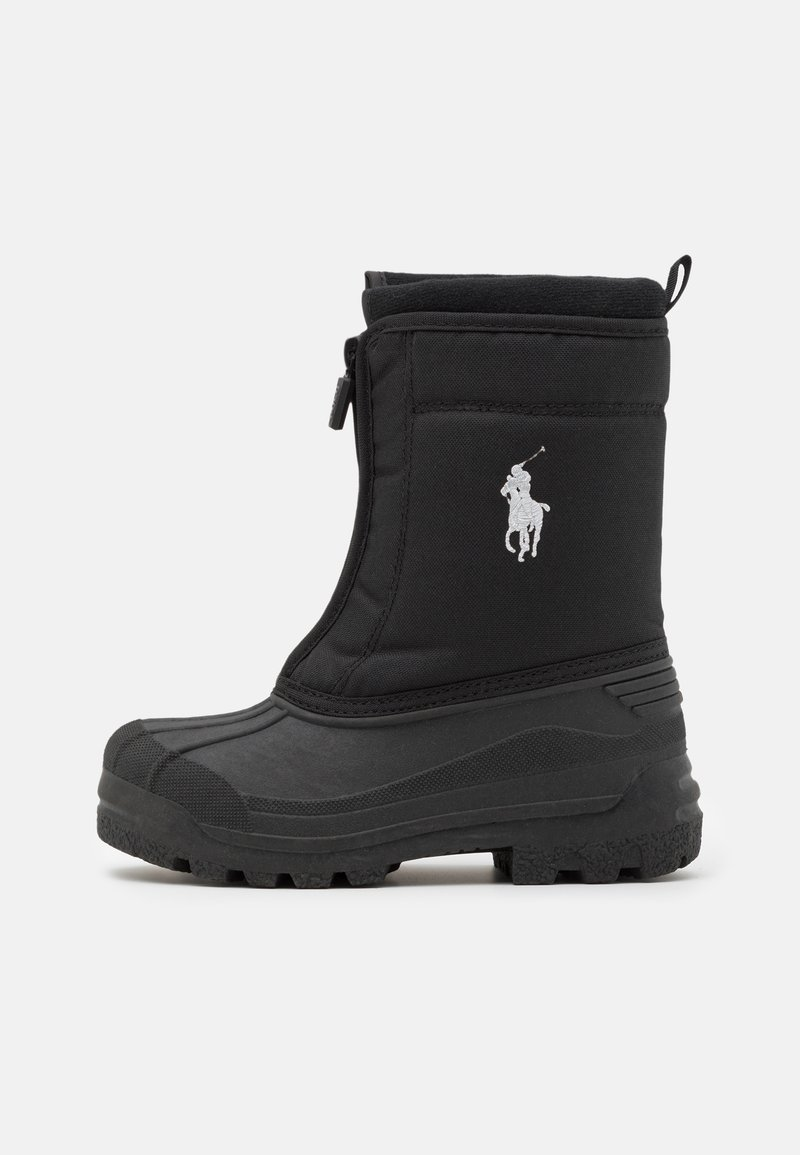 Polo Ralph Lauren - QUILO ZIP UNISEX - Winter boots - black/grey