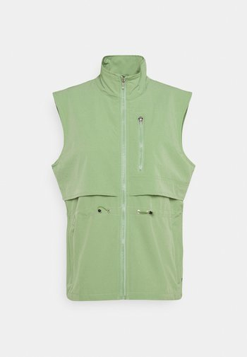 ELROY - Waistcoat - antique green