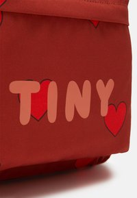 TINYCOTTONS - HEARTS BIG BACKPACK - Zaino - sienna/red - 3