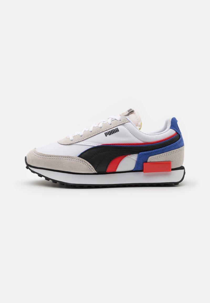 Puma - FUTURE RIDER DOUBLE - Sneakers - white/nimbus cloud