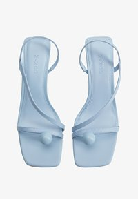 Mango - BOTON - Sandals - himmelblau - 1
