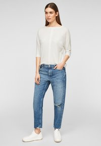 s.Oliver - MET 3/4-MOUWEN - Long sleeved top - offwhite - 1