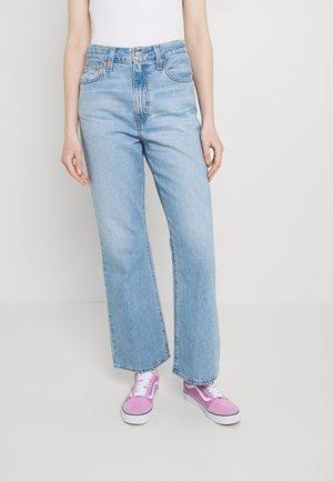 MATH CLUB FLARE - Flared Jeans - light-blue denim