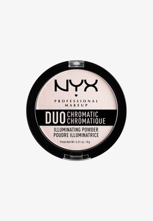 DUO CHROMATIC ILLUMINATING POWDER - Rozświetlacz - 4 snow rose