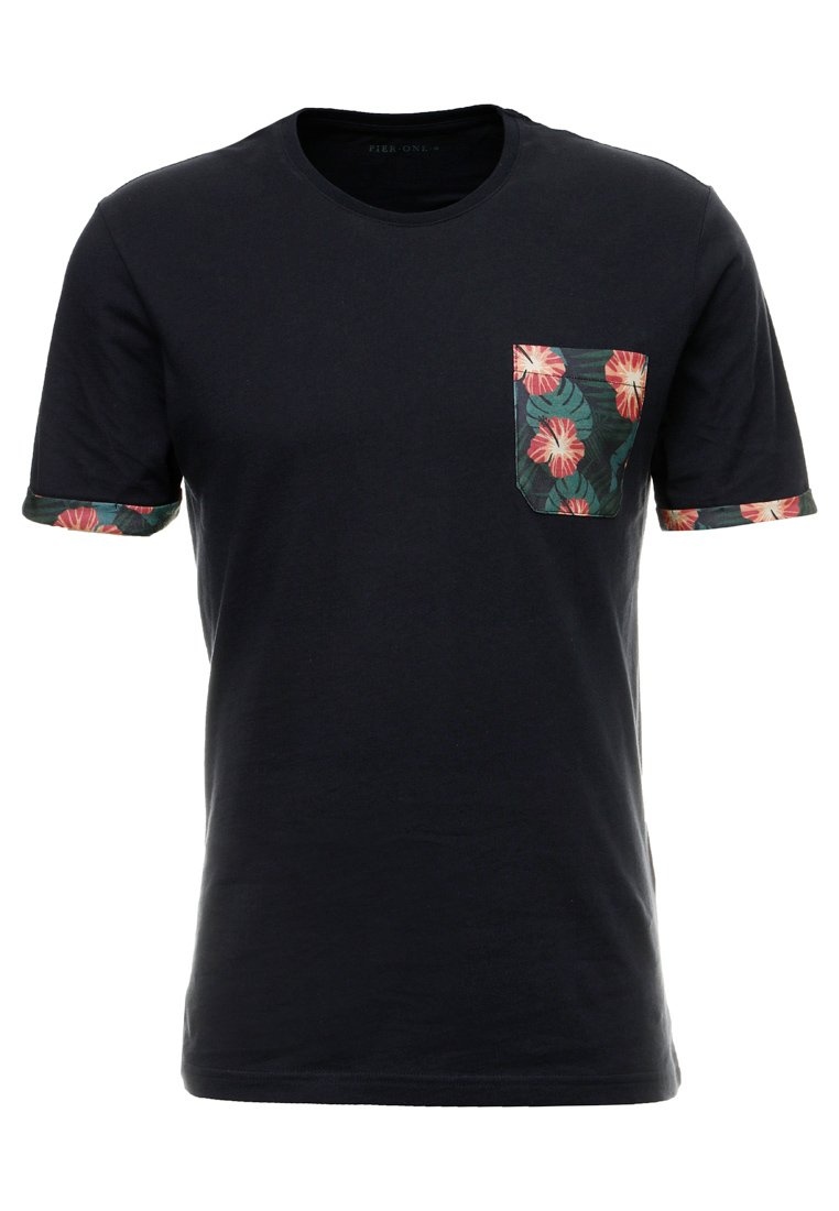 Pier One T-shirts Med Print - Dark Blue