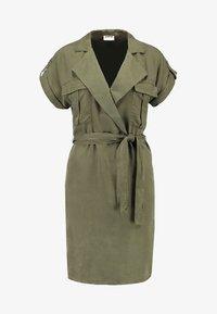 Noisy May - NMVERA ENDI DRESS - Shirt dress - olive night - 4