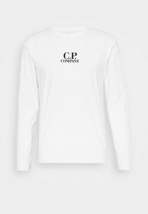 Long sleeved top - gauze white