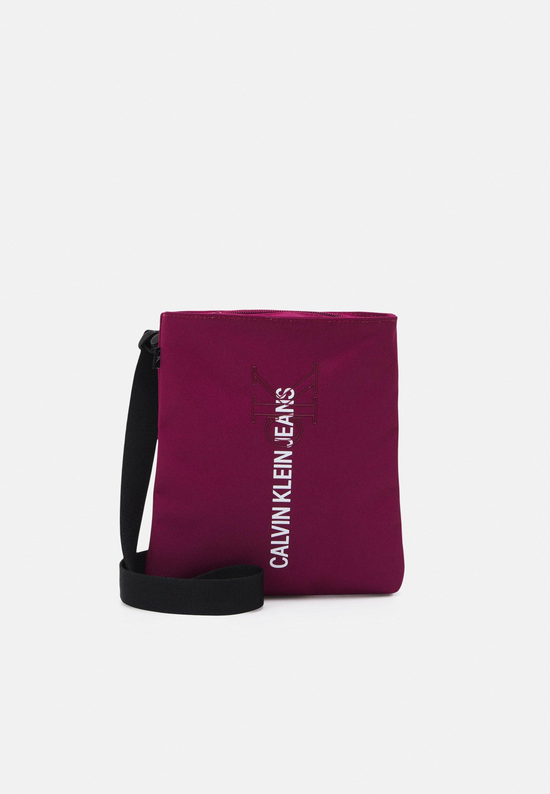 Men MICRO FLATPACK OUTLINE UNISEX - Across body bag