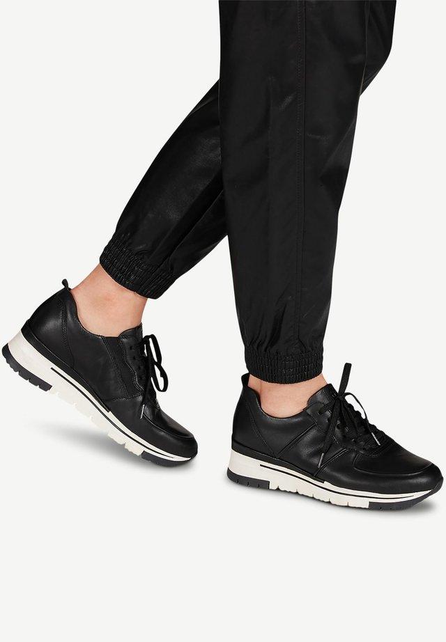 Zapatillas - blk lea/plain