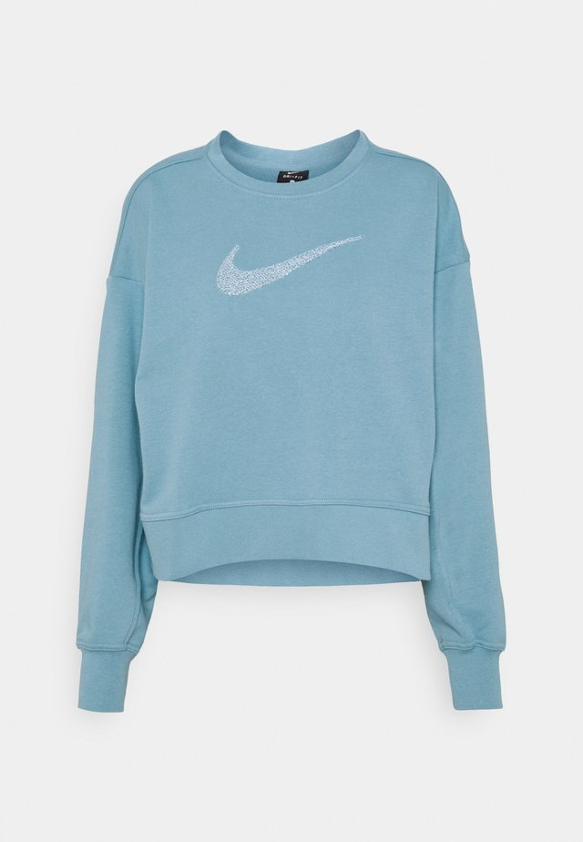 DRY GET FIT CREW - Sweater - cerulean/white