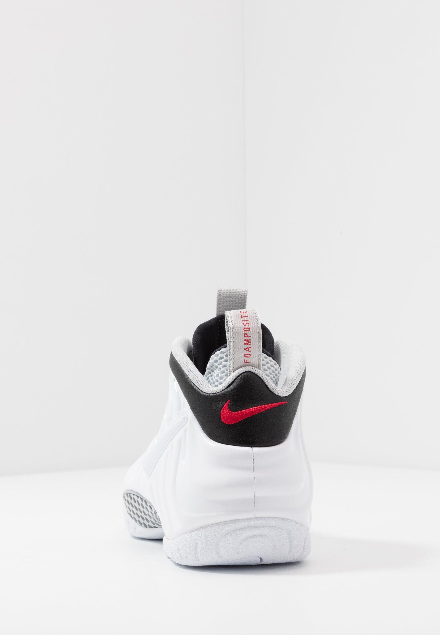 AIR FOAMPOSITE PRO Höga sneakers whiteblackuniversity redmetallic platinum