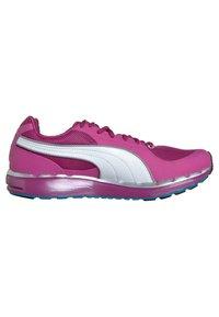 Puma - FAAS 500 W - Chaussures de running compétition - neon/silver/fluo blue - 5