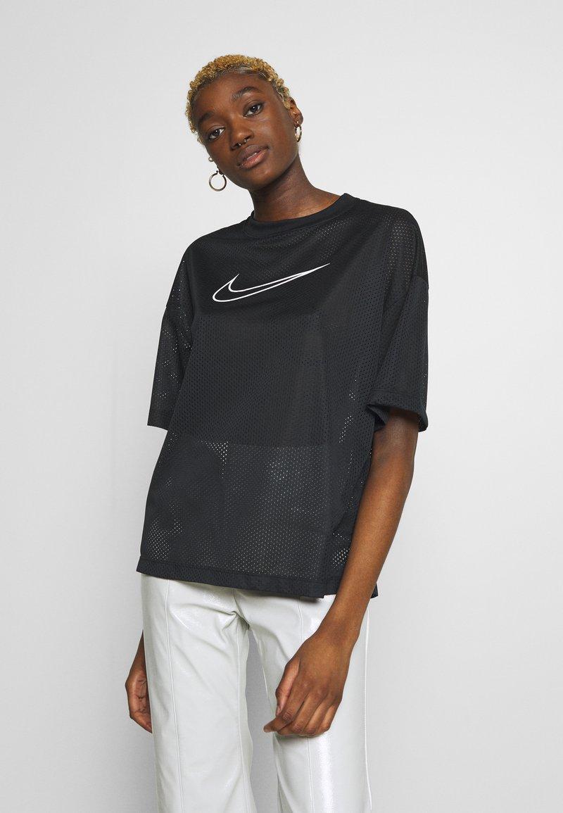 Nike Sportswear - W NSW - Print T-shirt - black/white