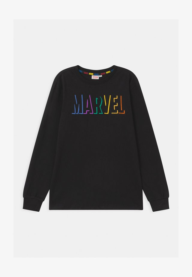 MULTICOLOR PRINT MARVEL - Long sleeved top - black beauty