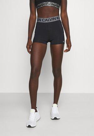 SHORT - Legging - black/bright white