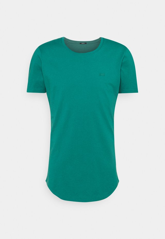 LUIS TEE  - T-shirts basic - bottle green
