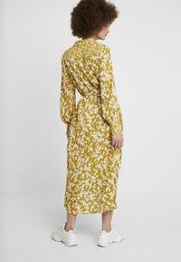 French Connection - BRUNA LIGHT DRESS - Maxi dress - citronelle/cream - 2