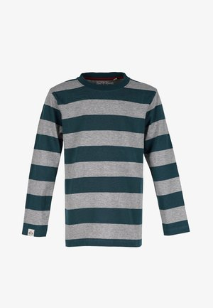 Long sleeved top - dark-petrol