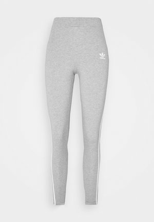 THREE STRIPES TIGHT - Leggingsit - medium grey heather