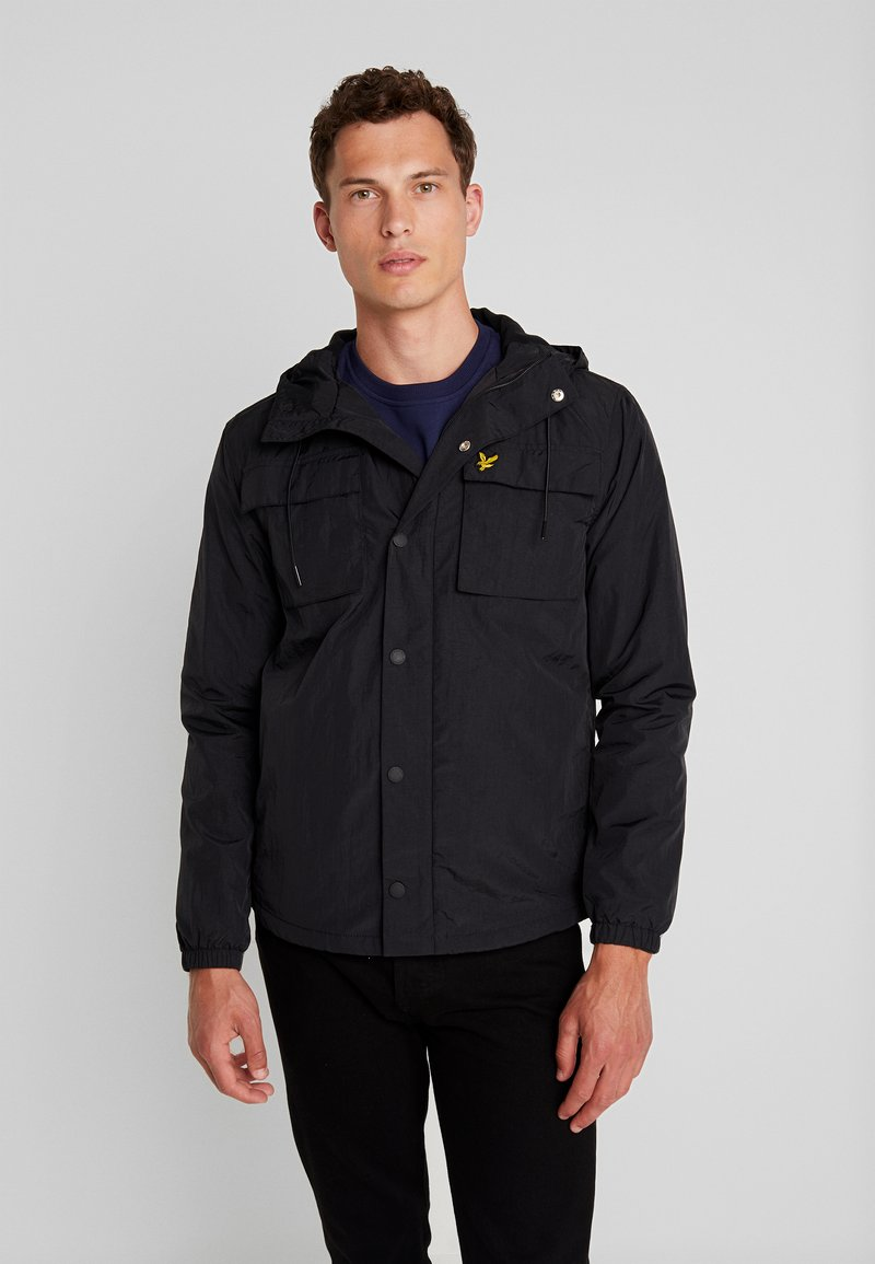 Lyle & Scott - POCKET JACKET - Outdoor jakke - true black