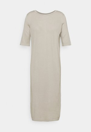 GINGER REVERSIBLE DRESS WOMAN - Gebreide jurk - mole grey