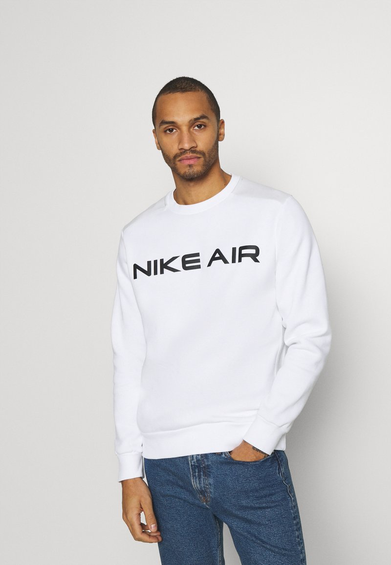 Nike Sportswear - AIR CREW - Sweatshirt - white/photon dust