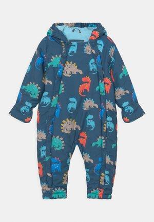 BABY PRINTED SNOWSUIT - Skipak - blue mix
