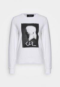 KARL LAGERFELD - LEGEND PRINT - Sweatshirt - white - 4