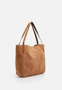 Anna Field - LEATHER - Tote bag - tan - 1