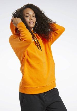 QUIK COTTON VECTOR HOODIE - Jersey con capucha - orange