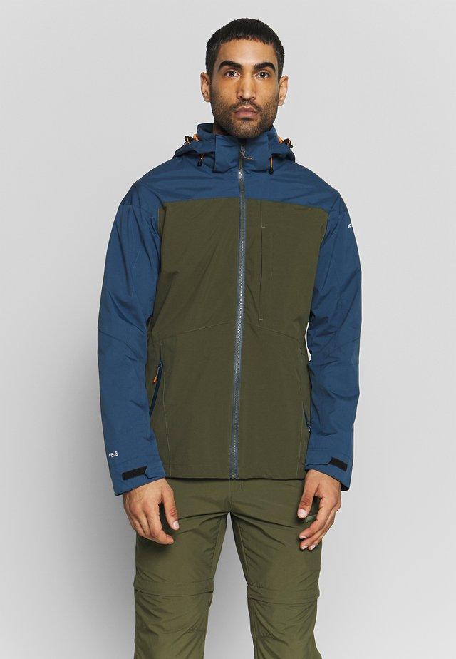 BANTRY - Waterproof jacket - dark olive