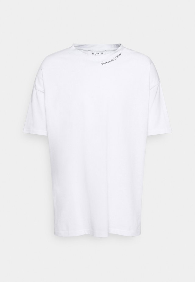 DRIVEN OVERSIZED  - T-shirt basic - white