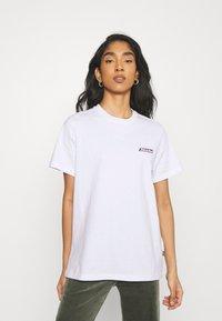 Dickies - RUSTON TEE - Print T-shirt - white - 2