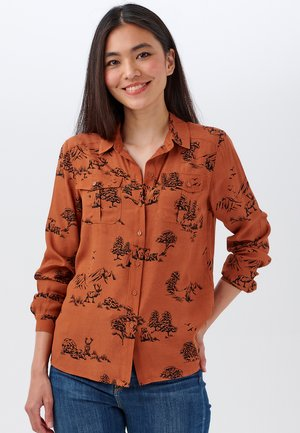 ATHENA ALASKAN WILDS - Button-down blouse - beige